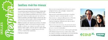 """""""Ixelles mérite mieux"""" – Respire juin 2012"""