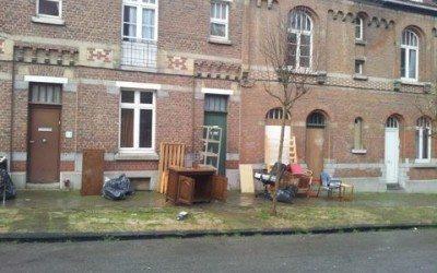 A Ixelles, on expulse en plein hiver !