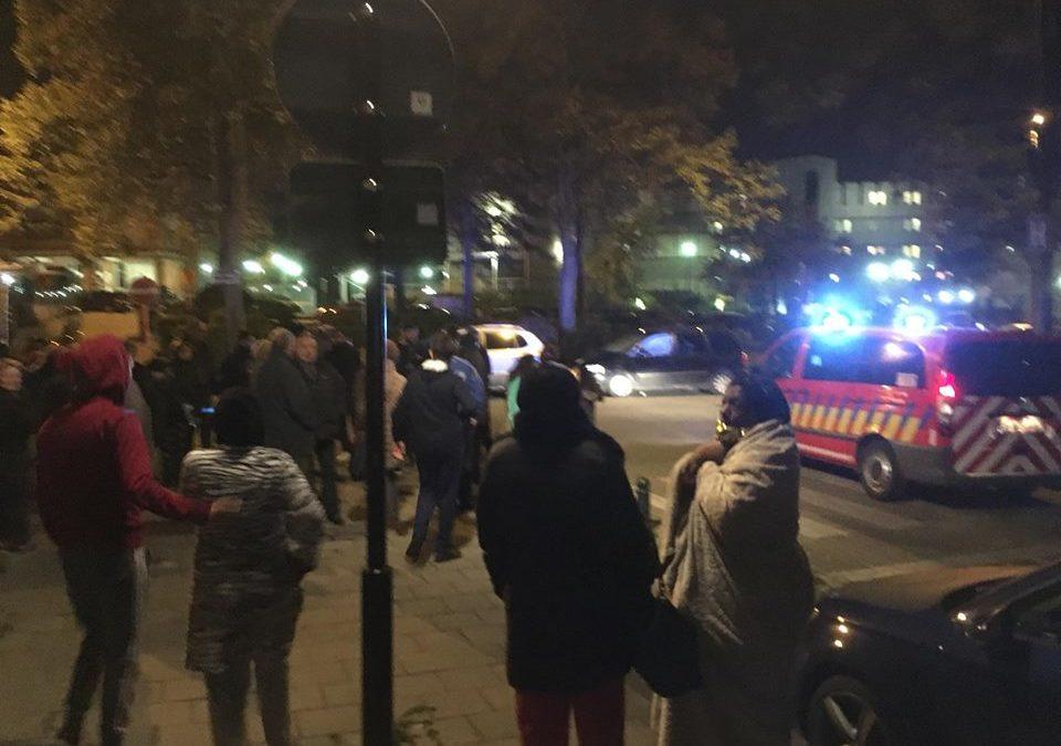 Feu au quartier de l'Aulne: 400 Ixellois évacués et la bourgmestre aux abonnées absents…