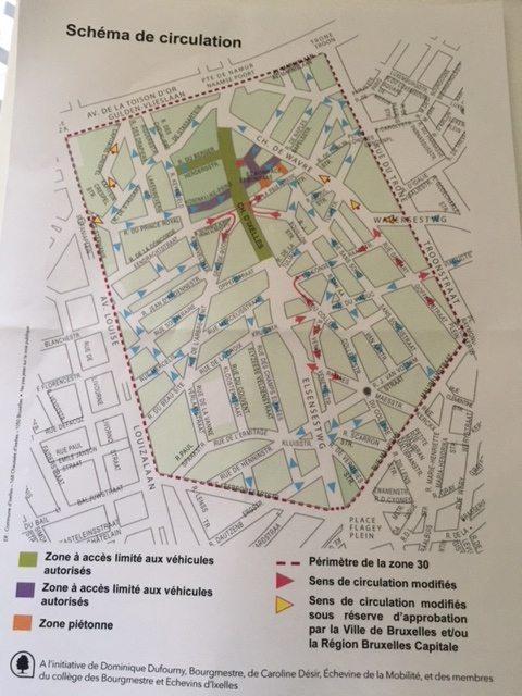 Chaussée d'Ixelles et Ixelles Nord: un nouveau schéma de circulation