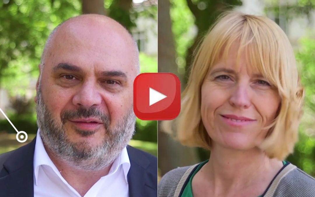 Vidéo du duo de tête de liste Ecolo Ixelles