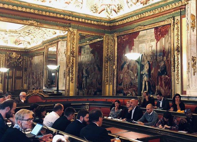 Rencontre entre les Collèges d'Ixelles et de la Ville de Bruxelles