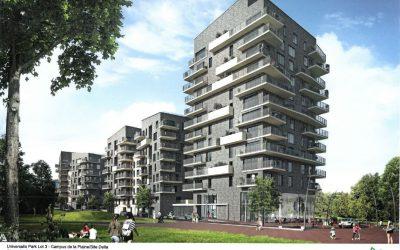 """Constructions """"Universalis Park"""" sur la Campus ULB de la Plaine: la Commission de concertation rend un avis défavorable"""